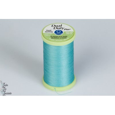 fil Dual Duty 325 yard couleur 5450 bleu turquoise patch quilt main mavada coats