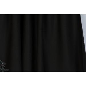 "Tissu ""Crêpe Black"" Atelier Brunette"