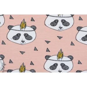 Jersey Bio Panda Dusty Pink Elvelyckan Design