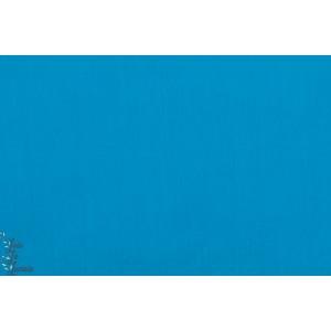 Popeline unie Bleu Vif Soft cactus coton,roy,turquoise,