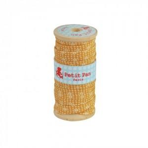 Biais bobine bois 2.5 m Yamila curry petit Pan