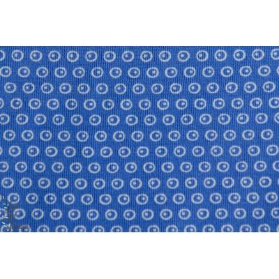 Jersey Bio à pois Kuller Bleu - stoffonkel