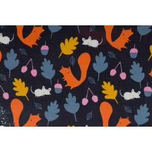 Tissu Imperméable Woodland Critters CLOUD9