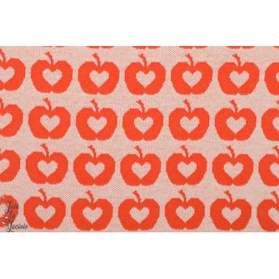 Jacquard Apple Liefde, orange lille