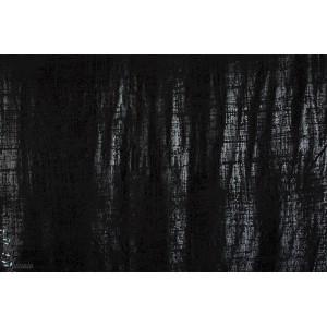 Jersey Métallique Noir/Noir Lillestoff