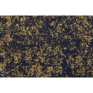 Double Gaze Texture, en doré et marine