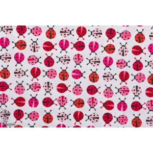 Popeline urban Zoologie Minis Pink Robert kaufman