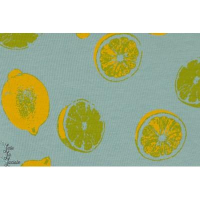 Summerjersey Sour Lillestoff - citron jaune
