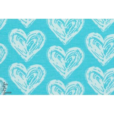 ersey Bio Coeurs Bleu  Designer : Janeas World pour Stoffonkel