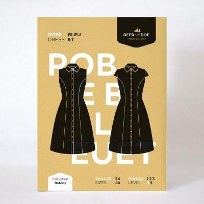 Patron Robe Bleuet Deer and Doe couture femme mode