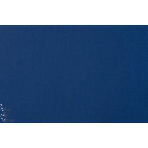 Ventana twill Navy coton sergé robert kaufman tweed luzerne imper bleu