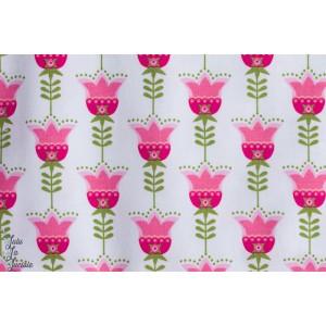 Jersey Bio Tulipes Blanc