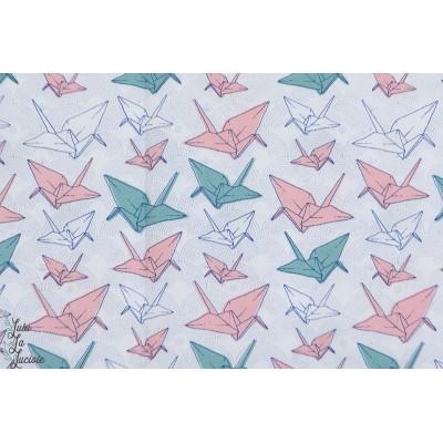 Popeline Origami Madame Casse Bonbon grue papier oiseau graphique japon