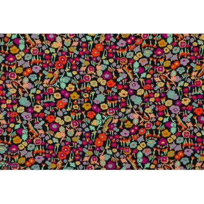 Popeline AGF Pretty Ditsy Spices  art gallery fabric fleur champ