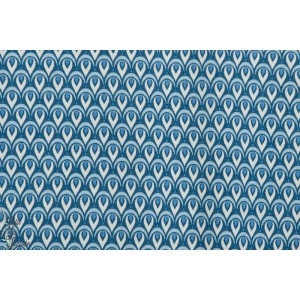 Modal Lily Love Bleu Lillestoff rétro vintage mode graphiquen femme