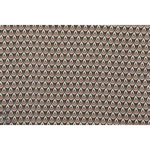 Modal lily Love brun Lilllestoff rétro vintage graphique mode femme marron