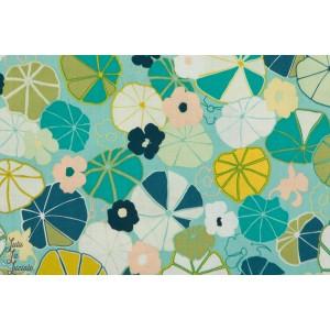 Popeline Nénuphars - jardin Anglais -JARD1264 - Dashwood