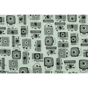 jersey Caméra Menthe appareil photo rétro vintage couture femme homme