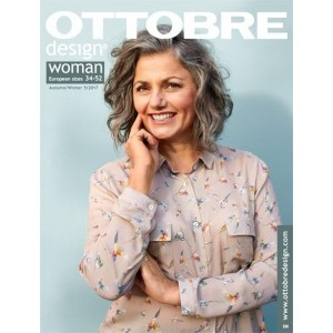 Magazine OTTOBRE WOMAN 5/2017 patron  couture mode femme design