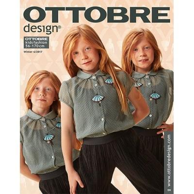 Magazine Ottobre Design kids 6/2017 enfant patron couture