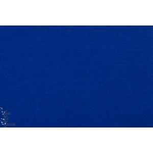 Tissu Bord côte Cobalt tubulaire