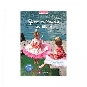 Livre ''Robes et blouses pour fillettes'' par Mélanie MOUBAREK
