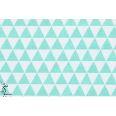 Jersey Bio Cool Triangle, Design: Deborah van de Leijgraaf/bora pour lillestoff.