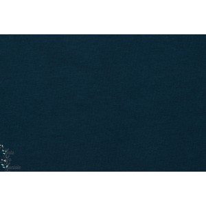 Jersey Bio Uni Lillestoff Dunkelblau Bleu marine