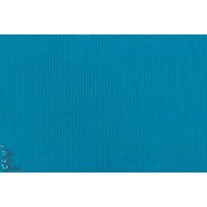 velours Millerais Gaby turquoise bleu