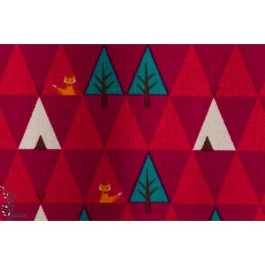 Jersey Bio Triangle Tipi rouge