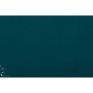 Summersweat Bio pétrolgrûn lillestoff - Bleu Pétrole