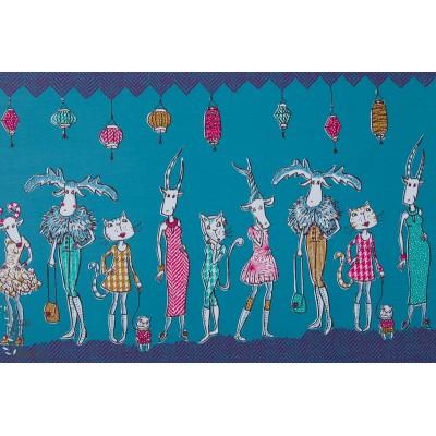 jersey Bio Modenschau Lillestoff - SUSAlabim - défilé de mode