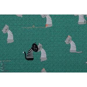 Jersey bio Schmusekatze Lillestoff câlin de chat
