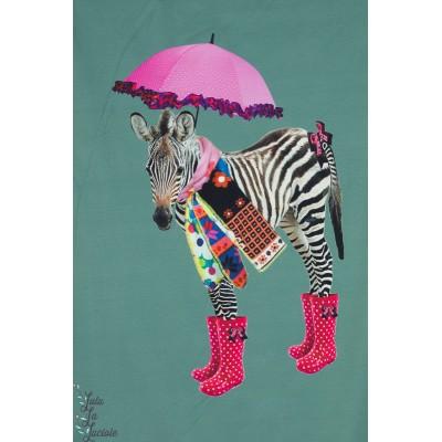 Panneau jersey Stenzo jolie Zèbre et ombrelle
