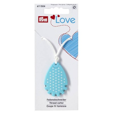 Coupe fil Prym Love bleu collier couture