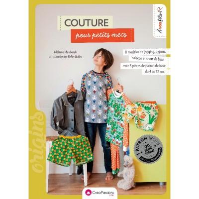 Livre : Couture pour petits mecs MÉLANIE MOUBAREK les belles bulles