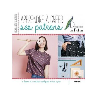 Livre apprendre à créer ses patrons Emilie Faurie  patron couture