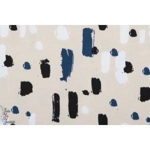 Jersey bio Elvelyckan Design Paint Dark Bleu