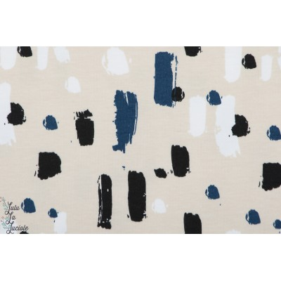 Jersey bio Elvelyckan Design Paint Dark Bleu graphique