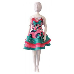 Kit Dress your Doll Maggy Minnie Bow barbie poupée couture enfant