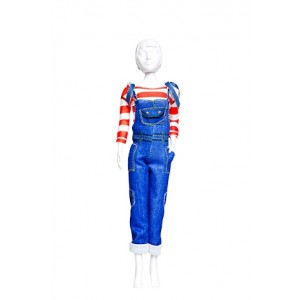 Kit Dress your Doll Tilly jeans couture poupée barbie fille