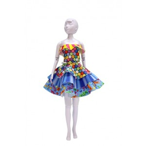 Kit dress you doll Maggy Candy barbie poupée couture fille