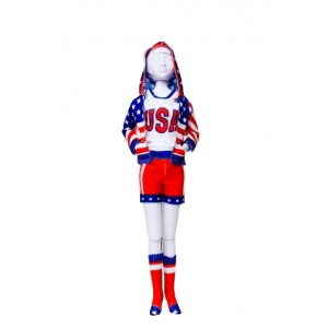 Kit Dress your Doll Sporty Stars Stripes poupée barbie couture fille