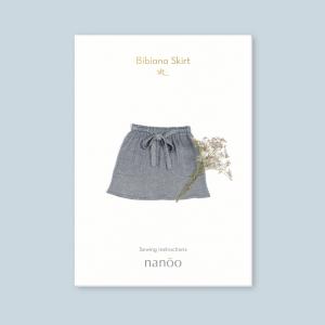 Patron jupe Bibiana feme nanoo couture mode chic confortable