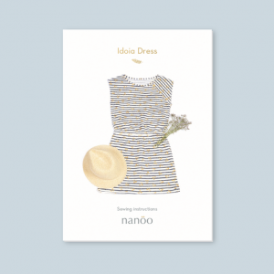Patron robe IDOIA femme couture chic confortable nanoo