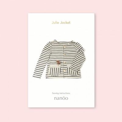 Mode Chic Nanoo Julie Simple Femme Patron Confortable Jacket Veste 9beEHIDW2Y
