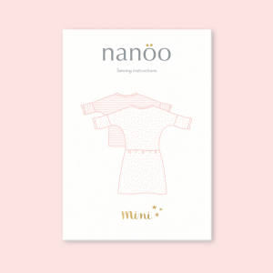 Mini : Top and Dress Nanoo fille robe patron couture haut nanoo confortable mode chic