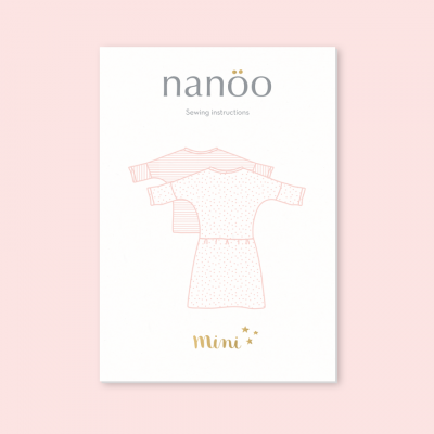 Mini : Top and Dress Nanoo fille robe patron couture haut nanoo confortable mode chic