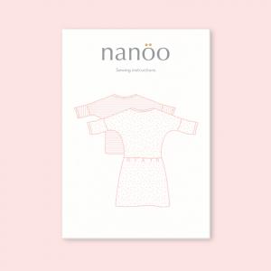 Patron Top and Dress nanoo robe haut chic confortable mode femme