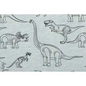 Jersey Stenzo Petit Dino chiné couture enfant garçon